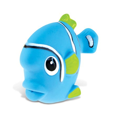 Rubber Fish (Toddler Bathtime Learning Toy Dollibu Bath Buddies Blue Fish Rubber Squirter Toy (Multipack of)