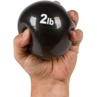 Weighted Exercise Toning Ball - Set of 2 - By Trademark Innovations (2lbs.)