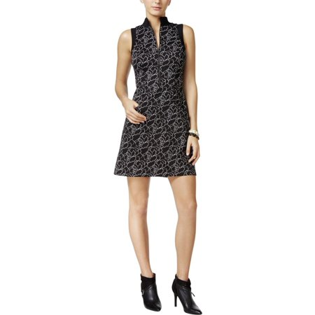 fc61878e339 GUESS - Guess Womens Adalia Floral Printed Sleeveless Party Dress Black M -  Walmart.com