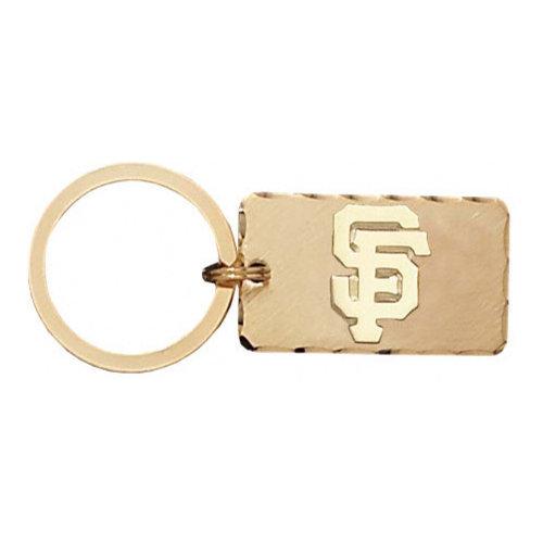MLB - San Francisco Giants Gold Plated Brass Key Chain