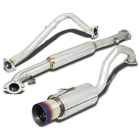 Mitsubishi Eclipse Stainless Steel Catback Exhaust System 4.5