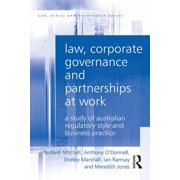 Law, Corporate Governance and Partnerships at Work - eBook