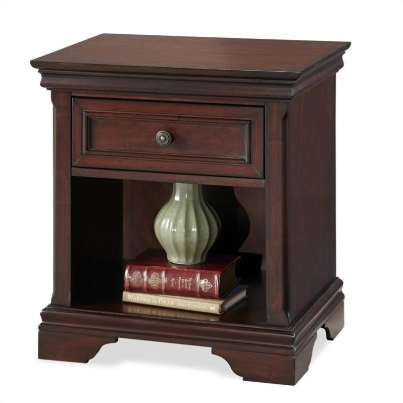 Home Styles Lafayette Night Stand, Rich Cherry