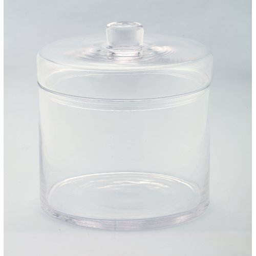 Diamond Star Glass Storage Jars by