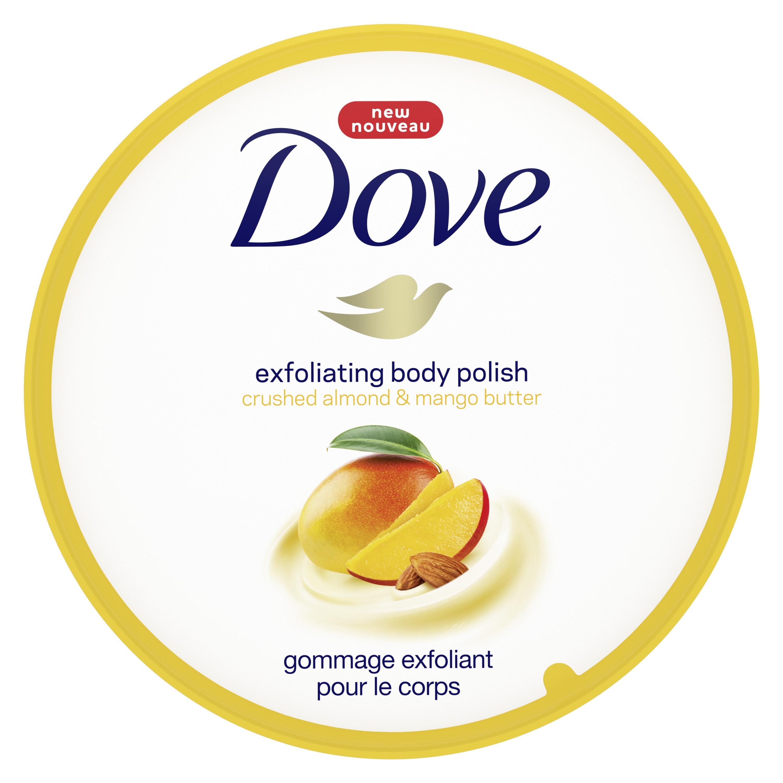 Dove Exfoliating Body Polish Crushed Almond And Mango Butter 10 5 Oz Walmart Com Walmart Com