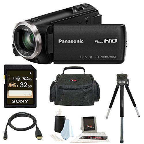 Panasonic HC-V180K Full HD 1080p Camcorder w/ 32GB Access...