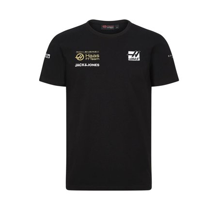 Rich Energy Haas 2019 F1 Team T-Shirt Black (M) (Best Energy Investments For 2019)