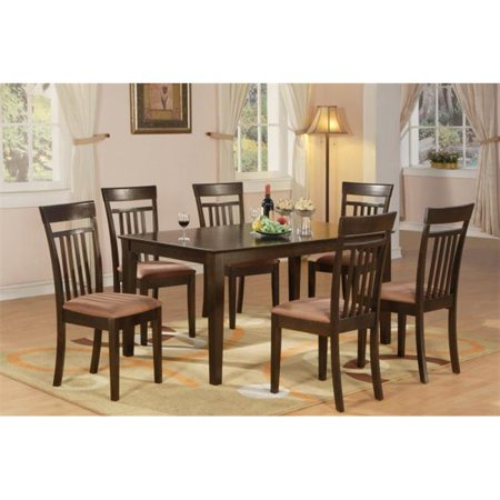 7 Piece Formal Dining Room Set-Table and 6 Dining Chairs