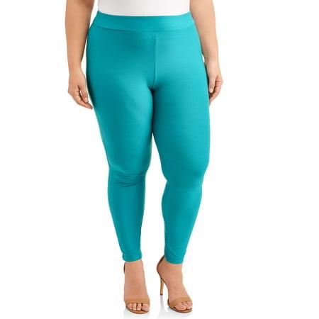 ca1ff8f5e5d49a Terra & Sky - Women's Plus Size Super Soft Full Length Legging ...