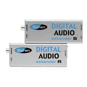 Gefen Digital Audio Extender System Silver EXT-DIGAUD-141