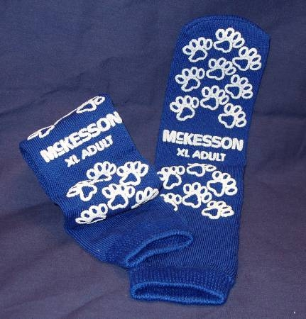 Slipper Socks Medi-pak Performance Adult X-large Royal Blue Above The Ankle 40-3816 Box Of 48