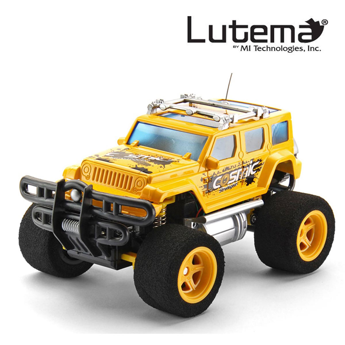 Lutema Cosmic Rocket 4CH Remote Control Truck Yellow by