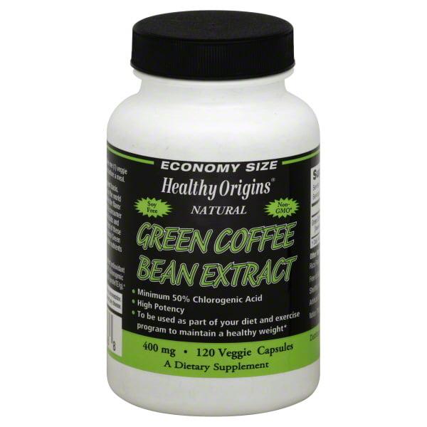 Healthy Origins Healthy Origins Green Coffee Bean Extract 120 Ea Walmart Com Walmart Com