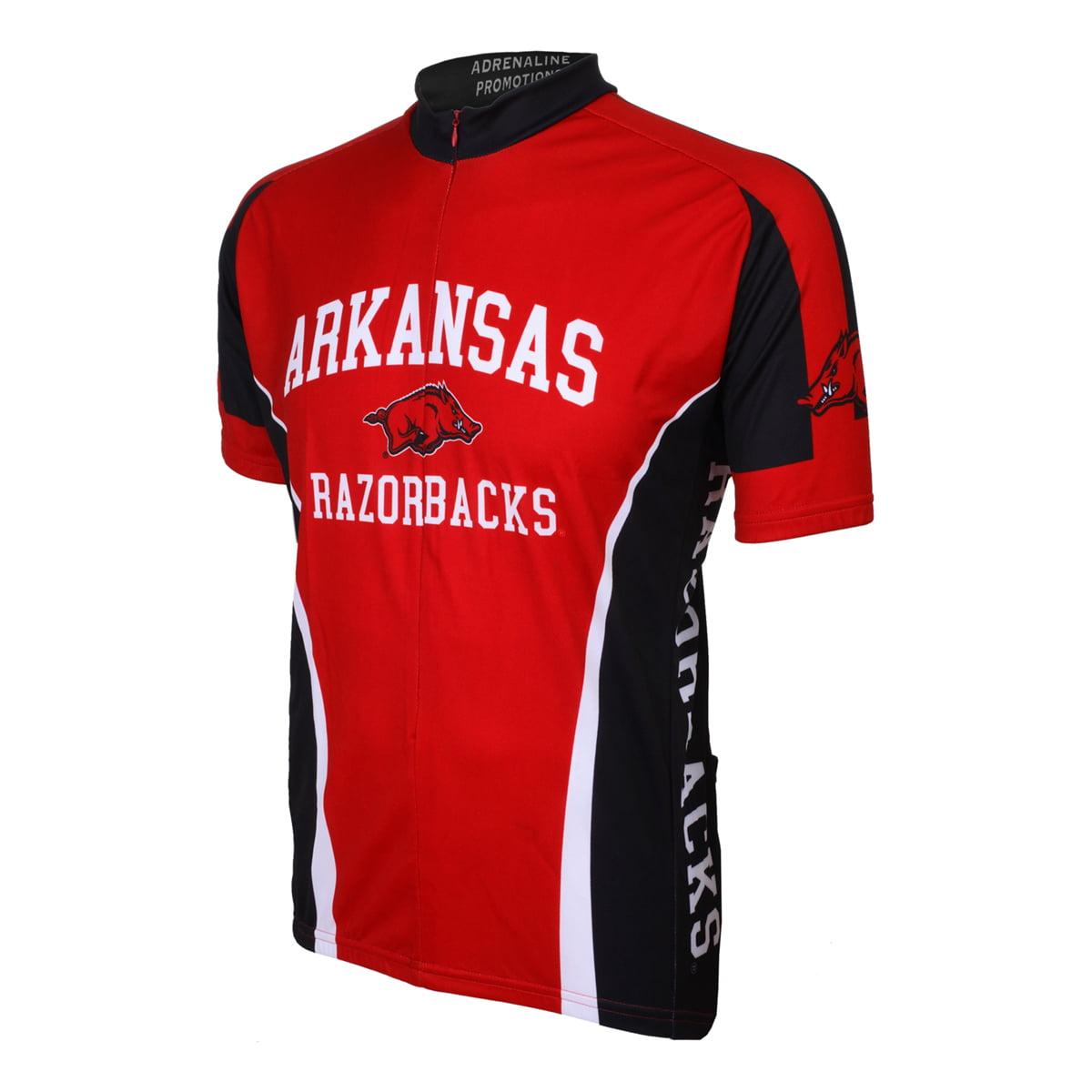 Adrenaline Promotions University of Arkansas Razorbacks Cycling Jersey