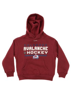 Reebok NHL Kids Colorado Avalanche Basic Team Hoodie, Maroon