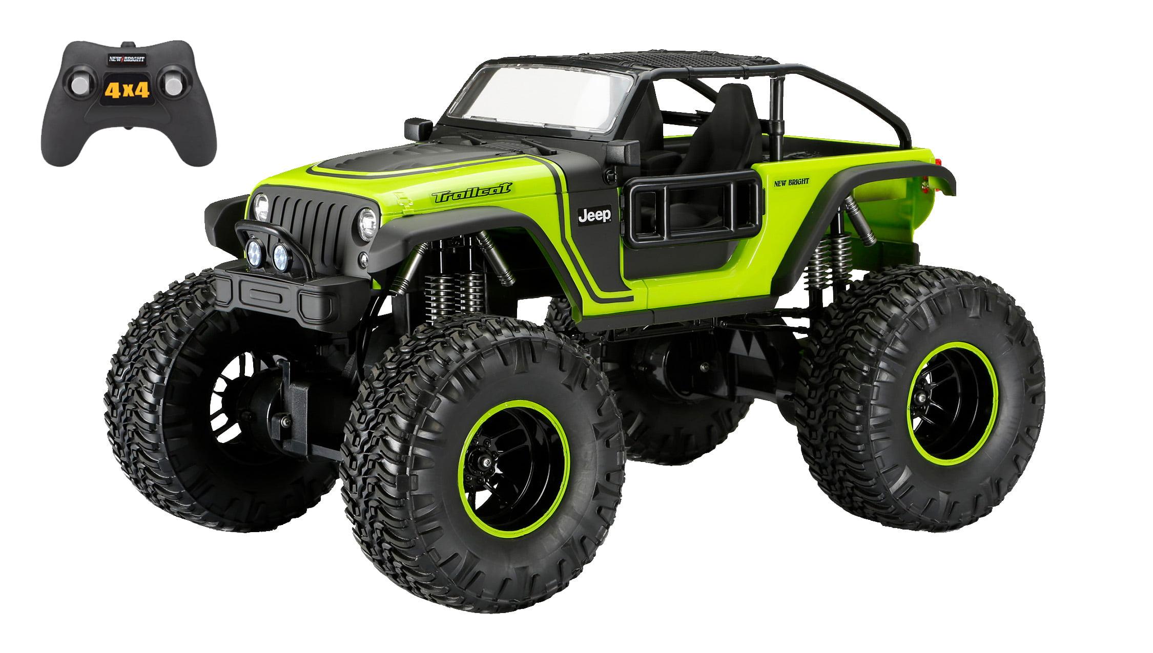New Bright 1:8 Radio Control 4x4 Jeep Trailcat by New Bright Industrial Co., Ltd.