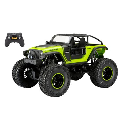 New Bright 1:8 Radio Control 4x4 Jeep Trailcat
