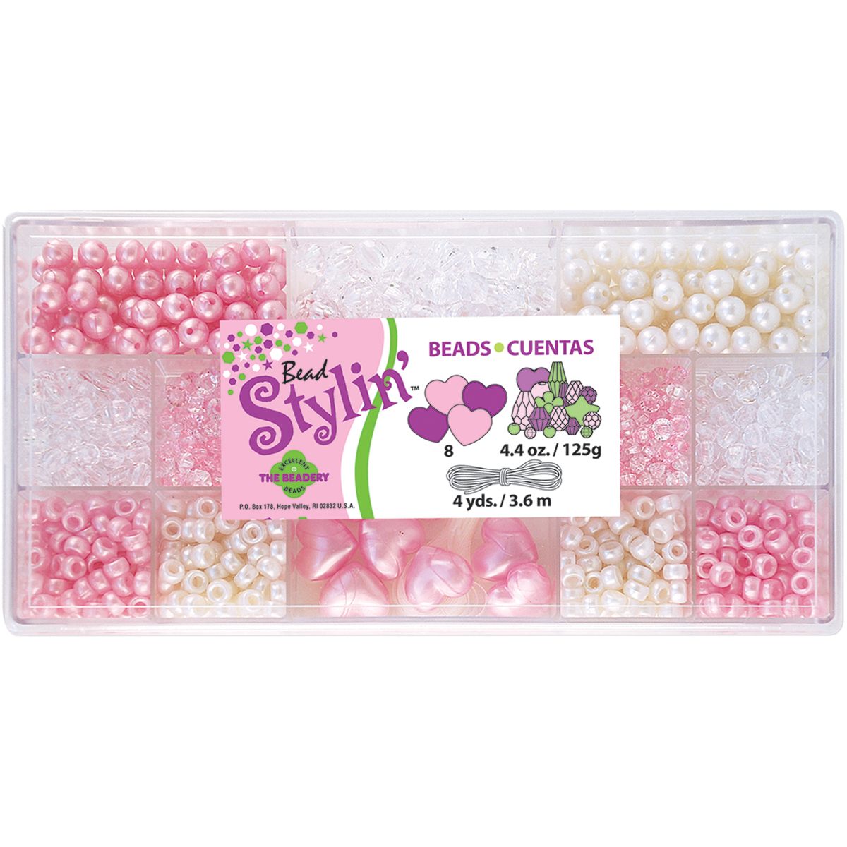 Bead Stylin' Bead Box Kit 4.4oz-Bubble Gum
