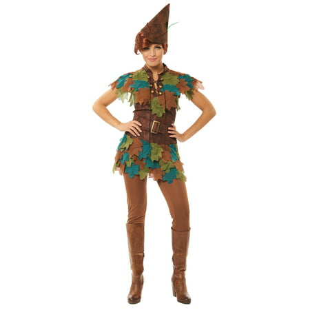 Womens Peter Pan Hook Halloween Costume (Peter Happy Halloween)