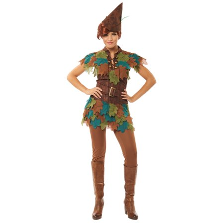 Womens Peter Pan Hook Halloween Costume](Plus Size Peter Pan Costume)