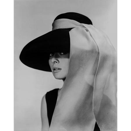 Audrey Hepburn Breakfast at Tiffanys Portrait Photo Print (Audrey Hepburn Breakfast)
