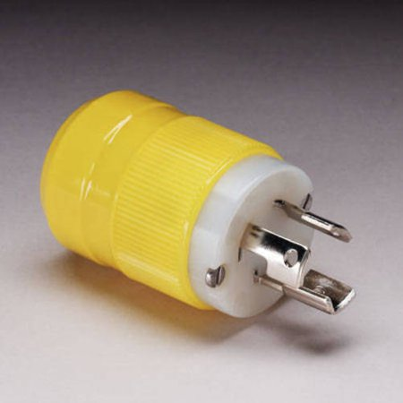 Marinco 4721CR 15A/125V Locking Type Male Plug