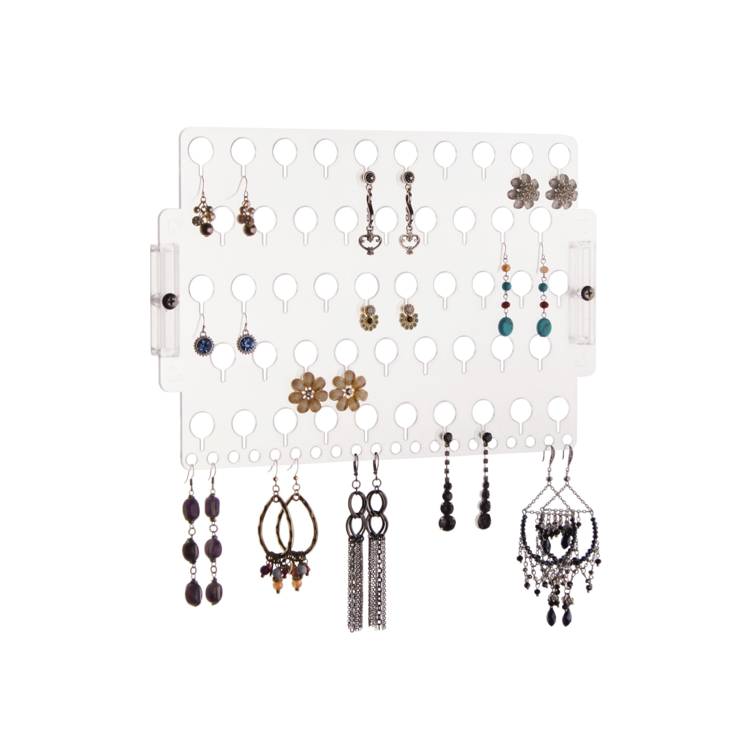 Clear Jewelry Boxes Organizers Walmartcom
