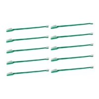 Green Dual End Toothbrushes For Dogs Dental Oral Health Grooming Bulk Available (10 Toothbrushes)