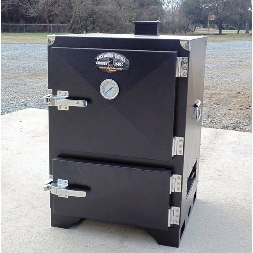 Backwoods Smoker Charcoal Wood Smoker and Grill by Chubby 3400 Smoker