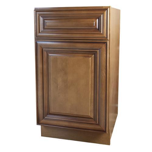 GHI Sedona Chestnut Kitchen Base Cabinet - Walmart.com ...