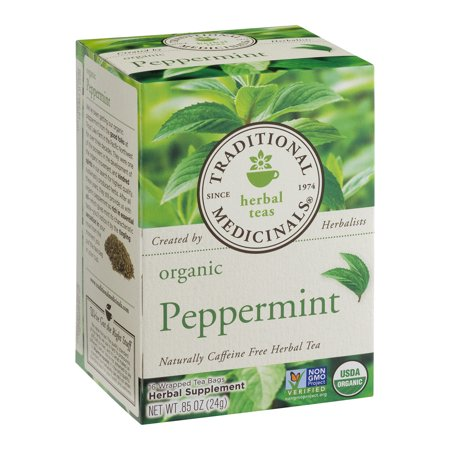 (6 Boxes) TRADITIONAL MEDICINAL PEPPERMINT -