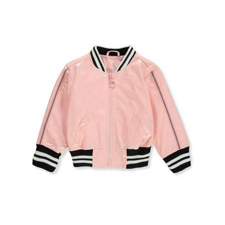 Urban Republic Baby Girls' Flight Jacket (Toddler Flight Jacket)