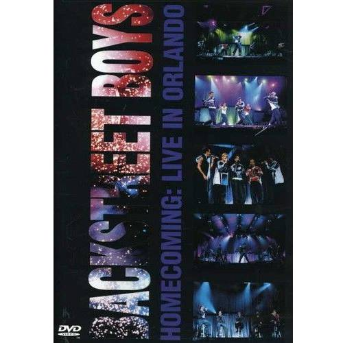 Backstreet Boys: Homecoming Live In Orlando (Music DVD) by