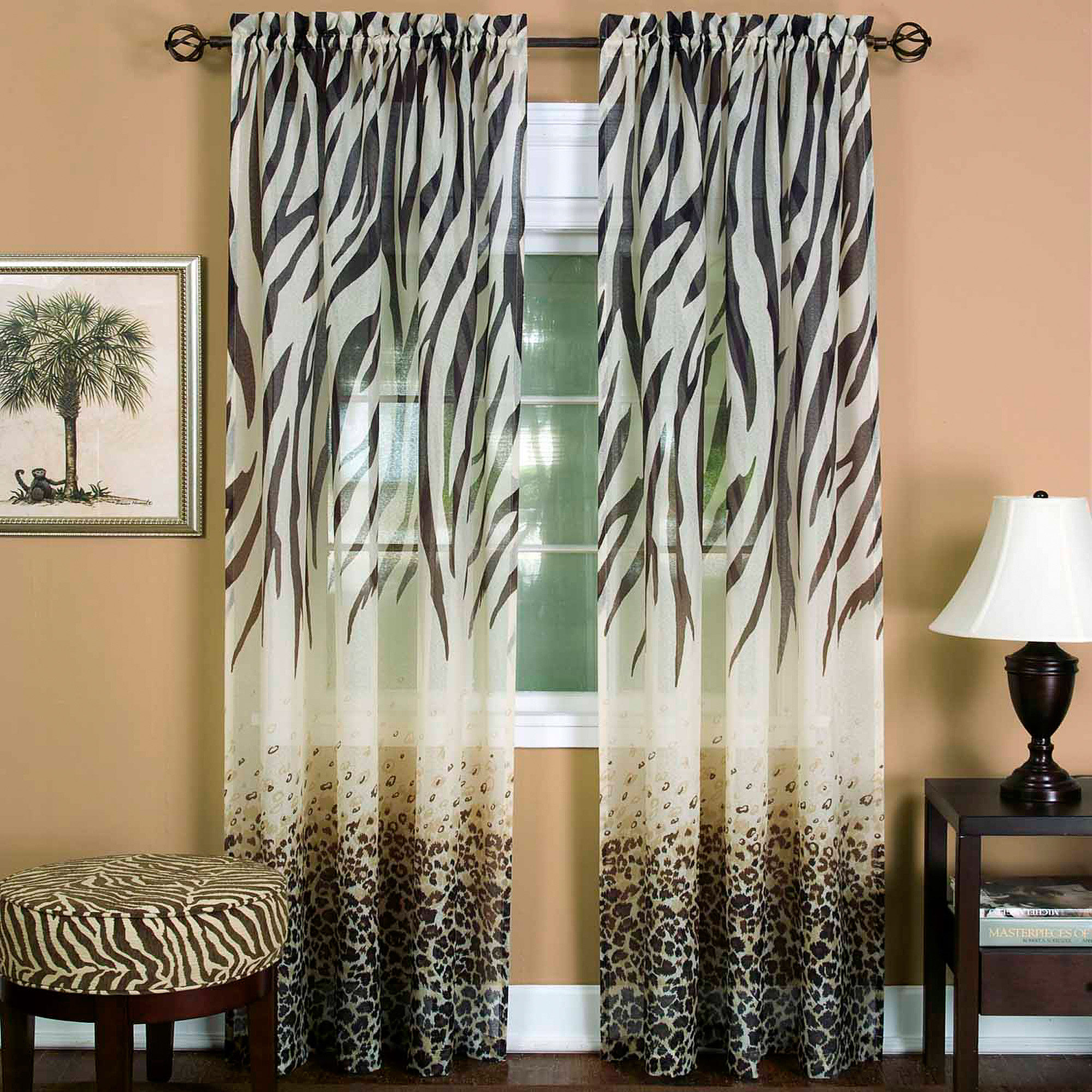 Kenya Curtain Panel by Collections Etc