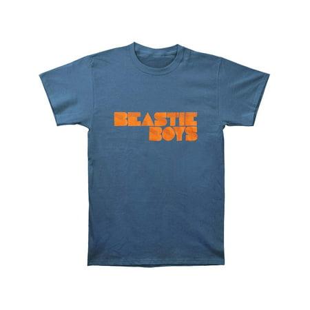 Indigo Mens Shirt - Beastie Boys Men's  Fader Logo T-shirt Indigo