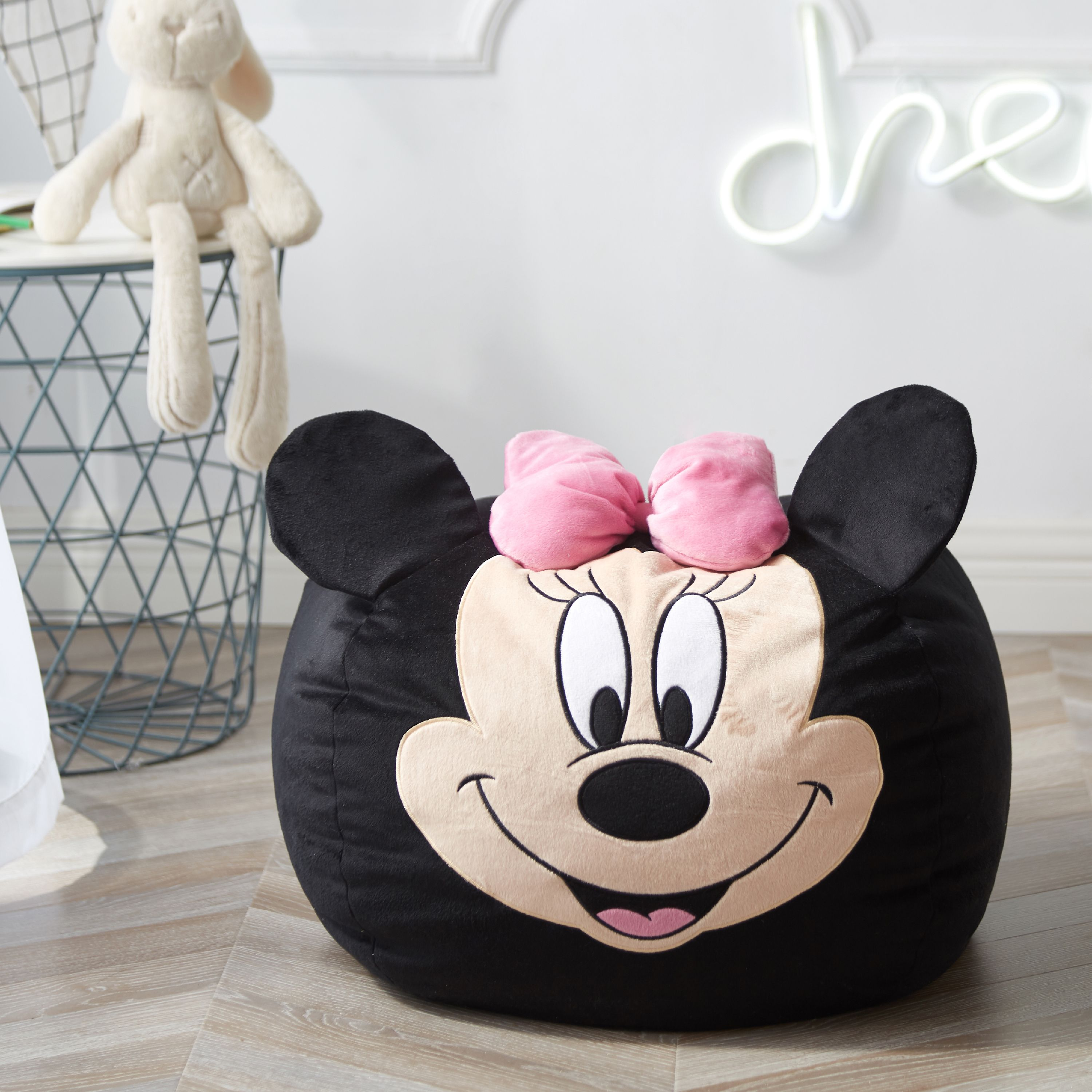 Disney Minnie Mouse Figural Bean Bag Chair