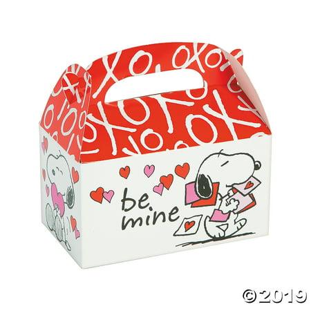 Peanuts® Valentine Favor Boxes](Peanuts Valentine)