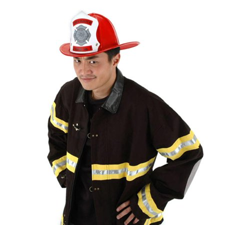 Fire Chief Adult Costume Hat - Fire Chief Costume