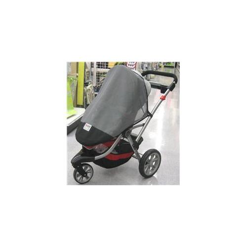 Sasha Kiddie Kolcraft 2 Kolcraft Contours 3 Wheeler Single Stroller Sun, Wind and Insect Cover - Stroller Not Included