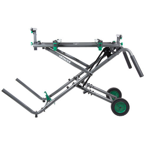 Hitachi UU240R Fold & Roll Portable Miter Saw Stand