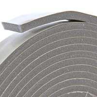 Frost King V445H Foam Tape, 10 ft L x 1/2 in W 3/8 in T, Vinyl, Gray