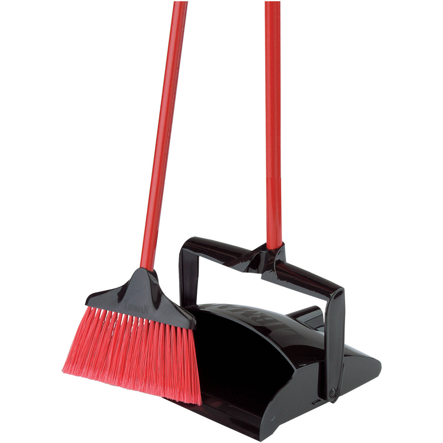 Mainstays Home Angle Broom With Dust Pan Set 1ct