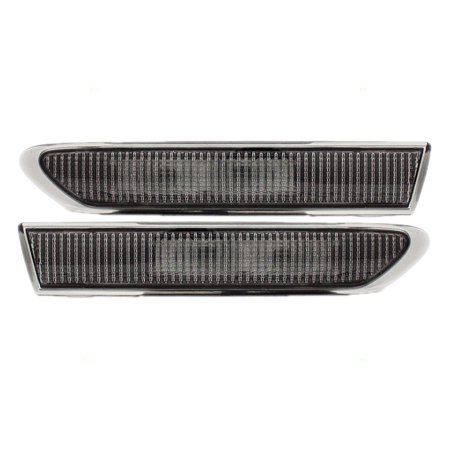 - Driver and Passenger Front Signal Side Marker Lights Lamps Replacement for Acura 33850SEPA01 33800SEPA01