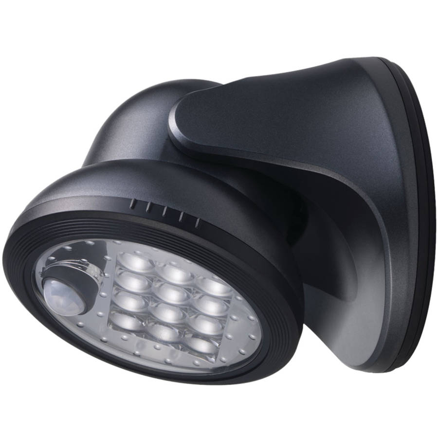 Light It! 20034-104 12-LED Wireless Porch Light, Charcoal by Light It!