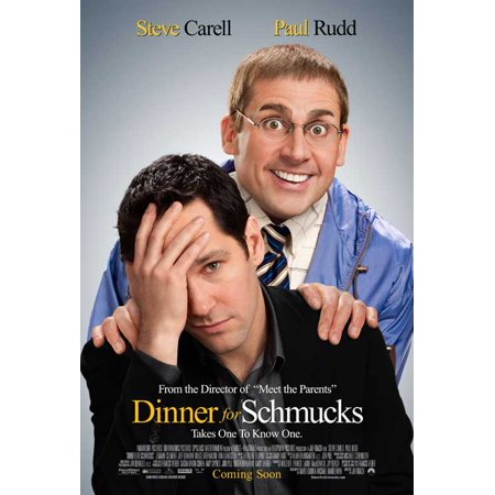 Dinner for Schmucks POSTER Movie D Mini Promo