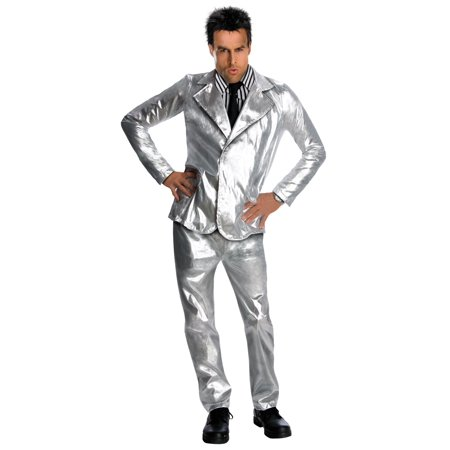 Zoolander Derek Silver Costume for - Zoolander Jacket