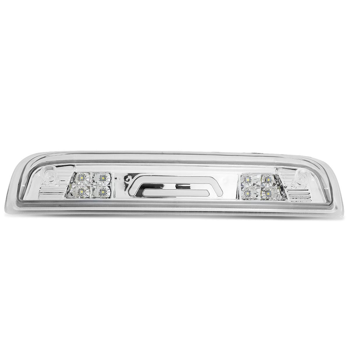 For 14-18 Chevy Silverado / GMC Sierra High Mount 3D LED 3rd Third Brake Light / Cargo Lamp (Chrome Clear)