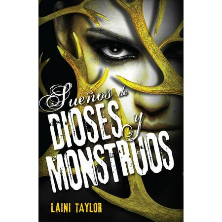 Sueños de dioses y monstruos (Hija de humo y hueso 3) - - Historias De Monstruos De Halloween