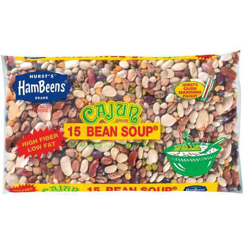Hurst's HamBeens : w/Seasoning Packet Cajun 15 Bean Soup, 20 Oz