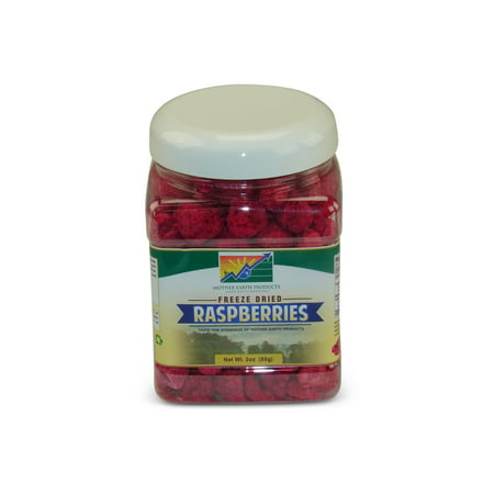 Mother Earth Products Freeze Dried Raspberries, (Freeze Dried Raspberries)